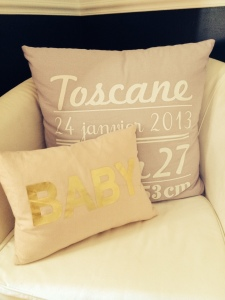 photo coussin