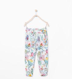 Pantalon fleuri 9,95