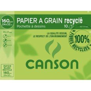 Papier Canson recyclé