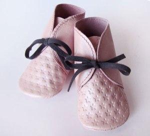 Les jolis chaussons de ma fille