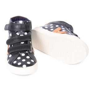 smallable-collaboration-dots-velcro-esplar-trainers-noir