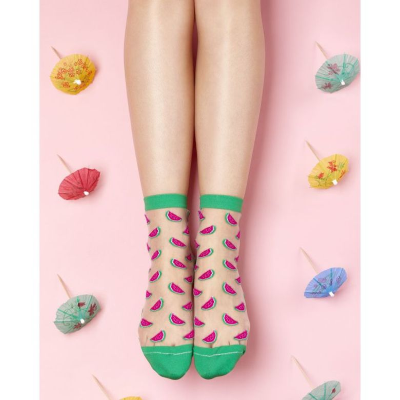 chaussettes-courtes-motifs-pasteques