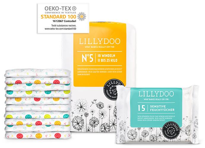 lillydoo-testpaket-oekotex-50
